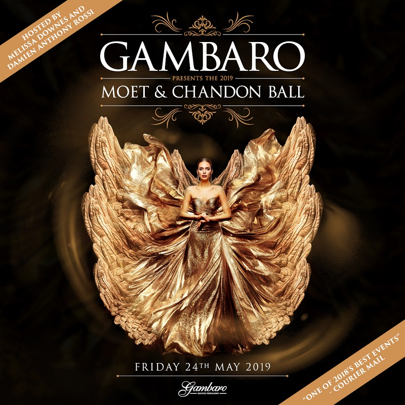 Gambaro Moet & Chandon Ball 2019