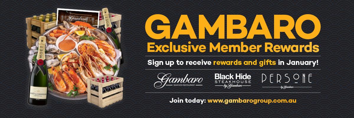 Gambaro Member Rewards